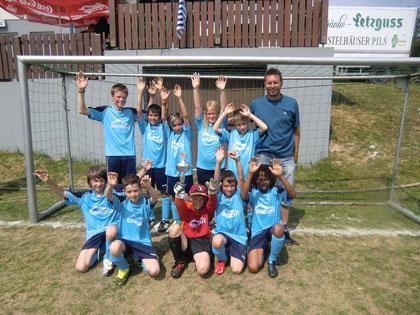 Die E- Jugend Siegermannschaft des SV Osterburken