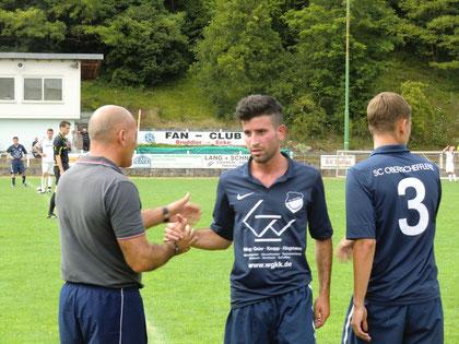 Er stellte die Weichen mit seinem Führungstor auf Sieg: Nandino Scialpi