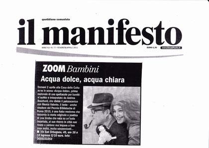 """su """"il manifesto"""""""