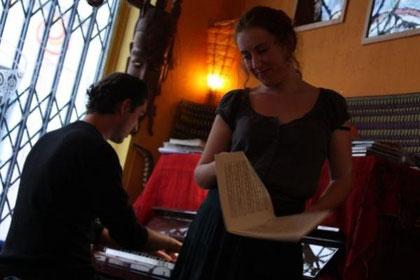 Récital Lisa Magrini et pianistre Marcus Maitrot baroque