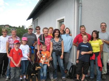 Kettenclub-Wandern 2009
