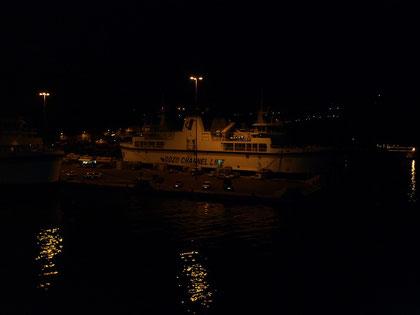 Erster Blick auf Gozo...... sieht man nicht wirklich viel