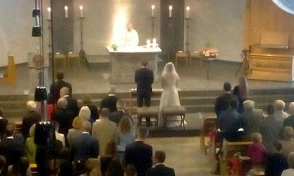 Burghochzeit Stolberg Brautpaar