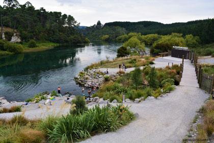 - Okumeheke spa park - Nouvelle-Zélande -
