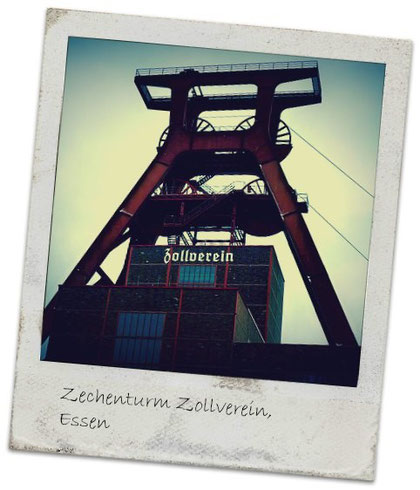 Zechenturm der Zeche Zollverein, Essen