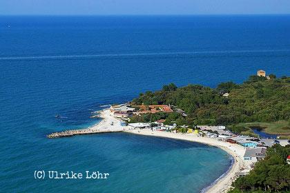 am Meer südlich von Ancona