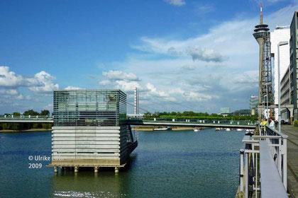 Blick über den Medienhafen