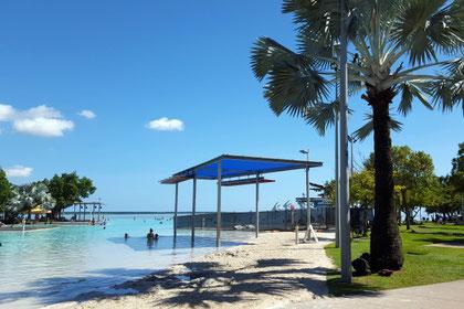 Cairns, Lagune, Freibad, Esplanade, Australien