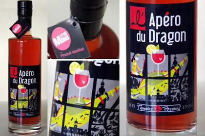 l'apéro du dragon apéritif Mons Dragon