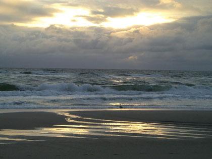 ...am Strand der Akademie am Meer