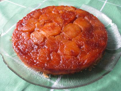 Tarta Tatin de manzana: pasta brisé y manzanas caramelizadas