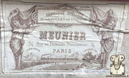 malle ancienne meunier 34 rue du faubourg poissonnière