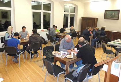 Das Sprachcafé wird gern angenommen.      Foto:K.A.K