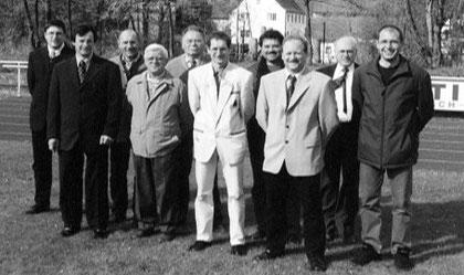 Verantwortliche der Fußballabteilung 2001