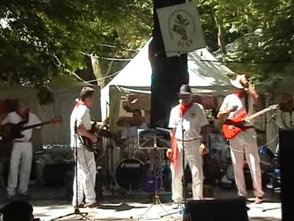Actuación San fermin 2010