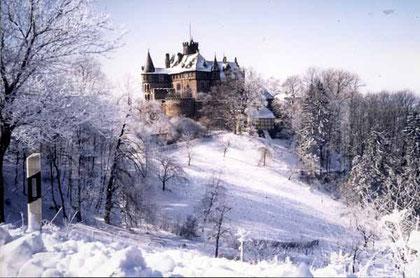 Ein Märchenschloß auch im Winter