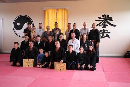 Teilnehmer des Seminars und Prüflinge