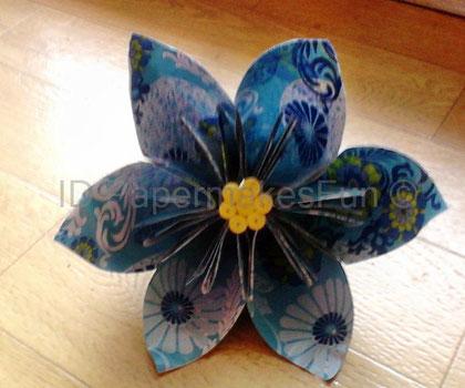 Origami - Blüte