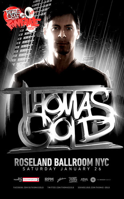 Thomas Gold | Roseland Ballroom NYC