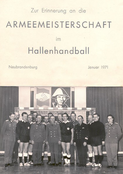 Neubrandenburg, Januar 1971