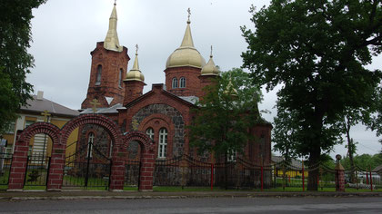 Orthodoxe Kirche in Mustvee