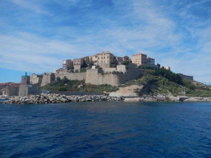 Calvi im Norden Korsikas