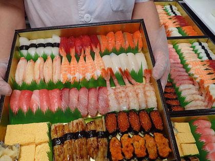 品川区 天王洲 寿司の出前