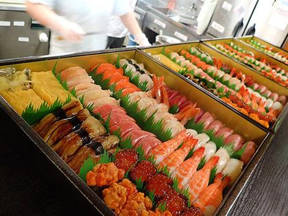 新宿区 宅配寿司 出前