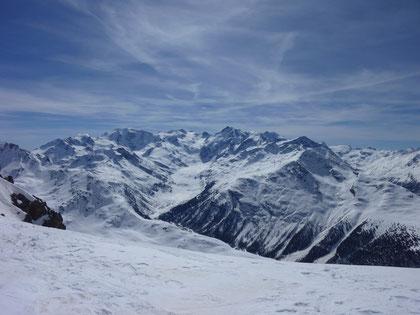 Skidepot, Piz Muragl, Bernina-Massiv