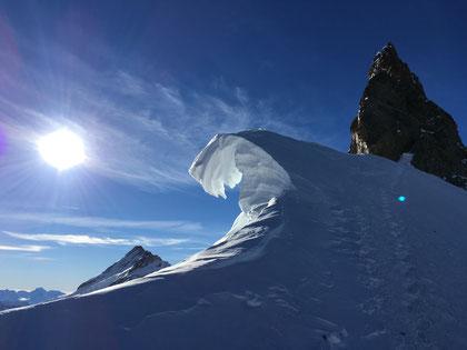 Eiger Nordwand, Eiger Northface, Eiger Heckmair, Abstieg, Descent, Eigerjöcher