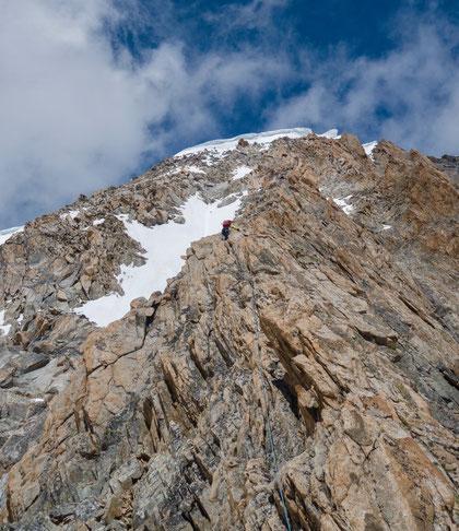 Nesthorn, Südgrat, Baltschiedertal, Gredetschtal, Bergsteigen, Mund, Hochtour, Genderflüo, Aletsch, Oberaletsch