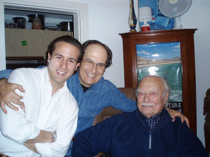 Montecarlo 2008 - The 3 Barbaranelli : son - father - grandfather