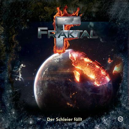CD-Cover Fraktal - Folge 16 Der Schleier fällt