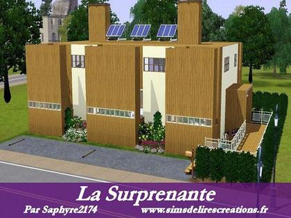 simsdelirescreations Sims sims3  moderne surprenante maison creation saphyre2174