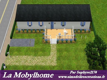 Simsdelirescreations Sims sims3 Mobylhome creation saphyre2174