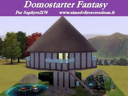 simsdelirescreations Sims sims3  Domostarter maison creation saphyre2174