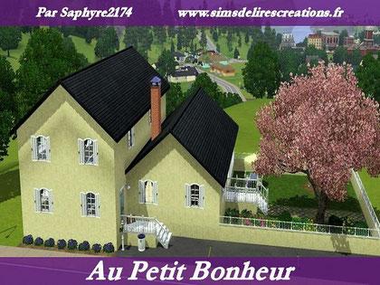 simsdelirescreations Sims sims3  moderne au petit bonheur maison creation saphyre2174