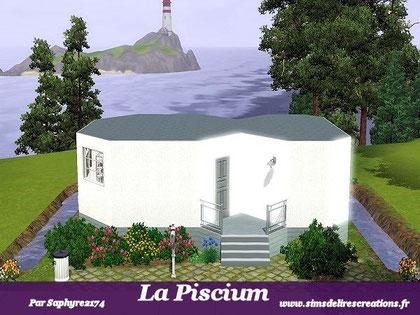 simsdelirescreations Sims sims3  Piscium maison creation saphyre2174