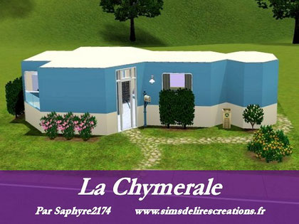 simsdelirescreations Sims sims3  Chymeral maison creation saphyre2174