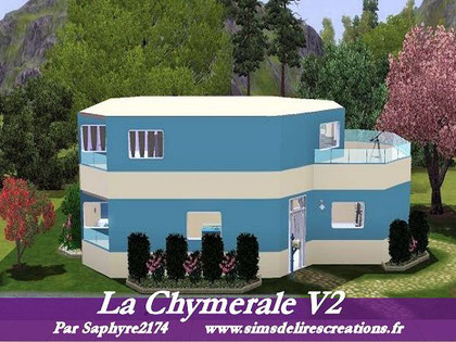 simsdelirescreations Sims sims3  Chymerale maison creation saphyre2174