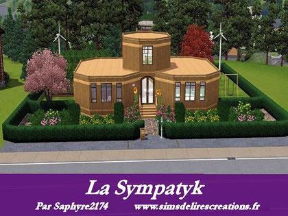 simsdelirescreations Sims sims3  Sympatik maison creation saphyre2174