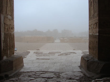 Abydos, Sandsturm