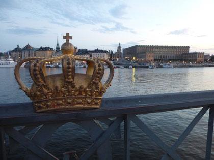 Gamla Stan und das königliche Schloss in Stockholm
