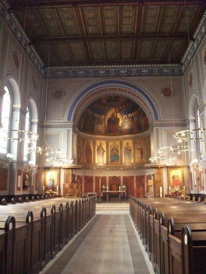 Der St. Ansgar Dom in Kopenhagen.