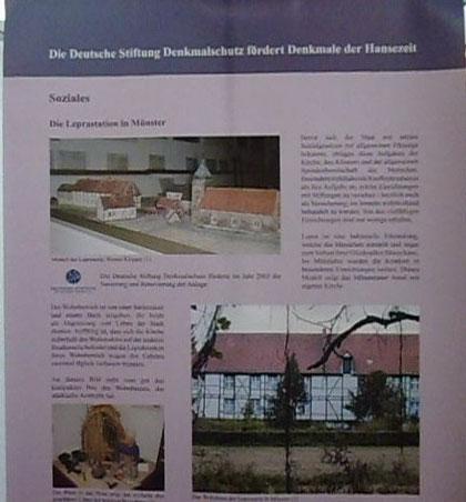 Wanderausstellung zur Geschichte der Hanse, mit 3 Fotos von Werner Klöpper