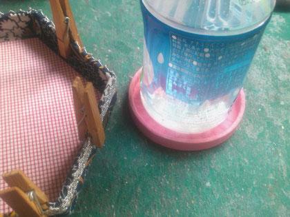 乾かす_06/カルトナージュの作り方 ©Atelier Z=Grace