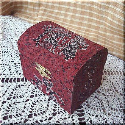 インドネシア・バティック・プリントの宝箱