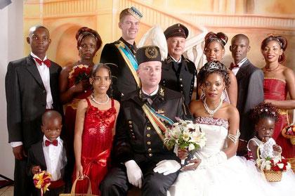 Das Hochzeitsfoto, standesamtlich am 19.12.2008, kirchlich am 20.12.2008