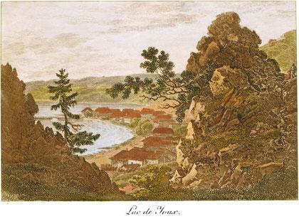 Artisti di ogni epoca arrivano nei paesaggi rocciosi de l'Aouille, alla scoperta delle bellezze del posto