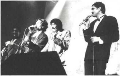 Una de sus Últimas apaciciones de Jero con Los Chichos en 1989 - Sala Jácara - Madrid
